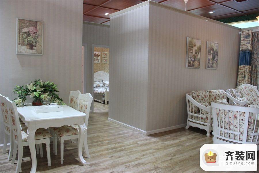 永隆城市广场骏景苑106平餐厅