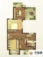 江南府邸尊邸别墅B1户型三层 5室4厅4卫1厨