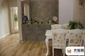 永隆城市广场骏景苑106平开放式厨房