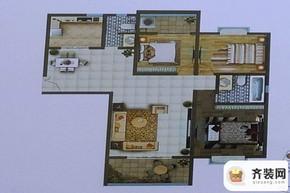 文林秋苑户型图 3室2厅2卫1厨
