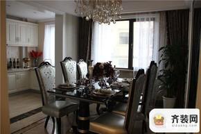 中建·大观天下四室两厅两卫一厨158㎡世观户型餐厅