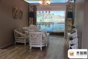 永隆城市广场骏景苑106平客厅