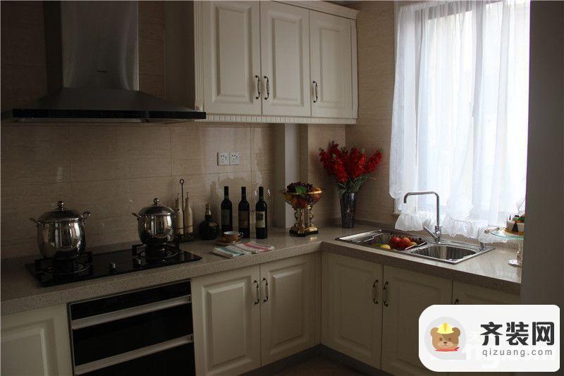 中建·大观天下四室两厅两卫一厨158㎡世观户型厨房