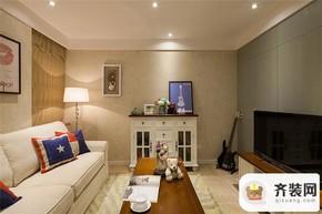 保利香雪-田园风格-85平米三居室