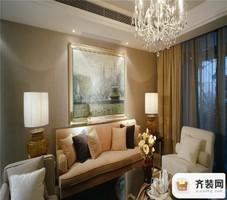 国兴北岸江山-现代简约-96平米二居室