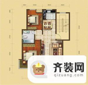 鲲鹏·岭秀城图片1 2室2厅1卫1厨