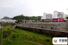 山水名门实景图