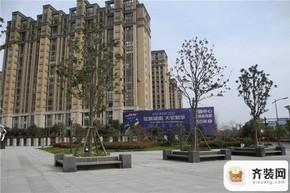 中庚·海德公园小区西门口
