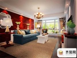国际社区-美式田园-100.18平米三居室