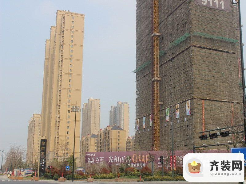 华润橡树湾 3#楼北立面(2014-4)
