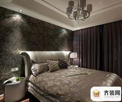 国际社区-后现代风格-129平米二居室