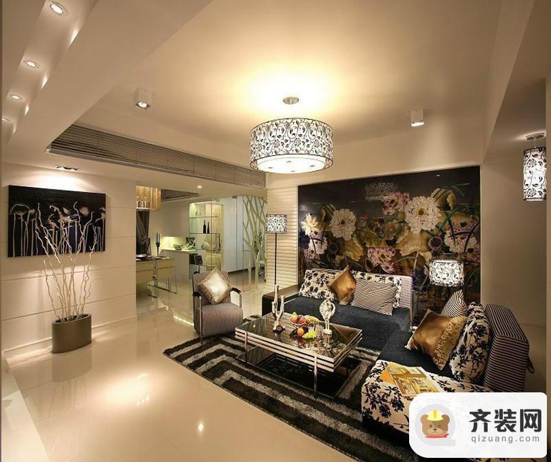 国际社区-现代简约-117平米三居室
