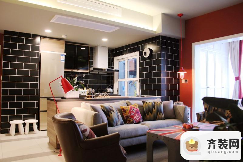 国际社区-英伦风格-79平米二居室