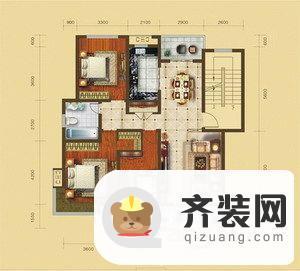 鲲鹏·岭秀城图片3 3室2厅1卫1厨