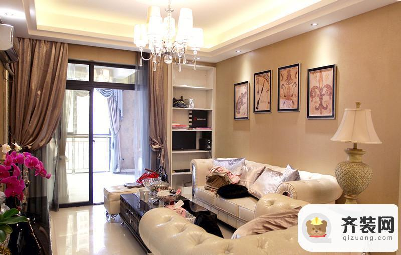 国际社区-新古典混搭-67.63平米二居室