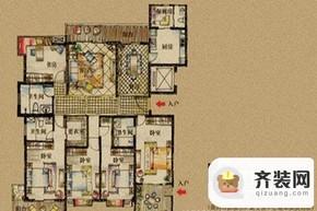 公园道一号第二期第二十五栋D户型 6室2厅4卫