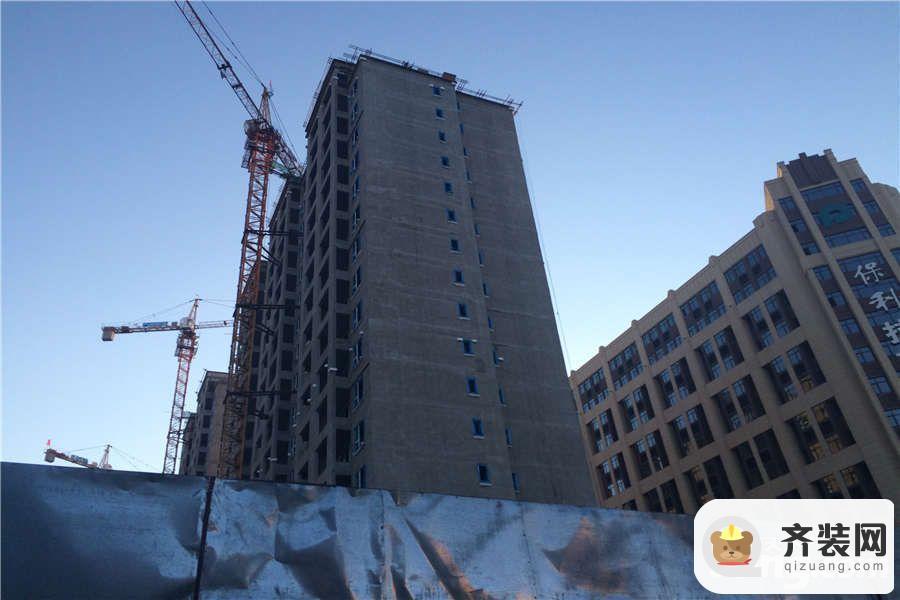 保利拉菲公馆施工进展(2015-6)