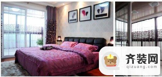西城逸品宽敞卧室