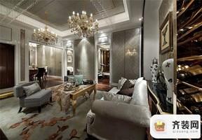 华润中央公园-简欧风格-135平米四居室