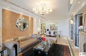 紫御江山-豪华美式风格-149平米四居室