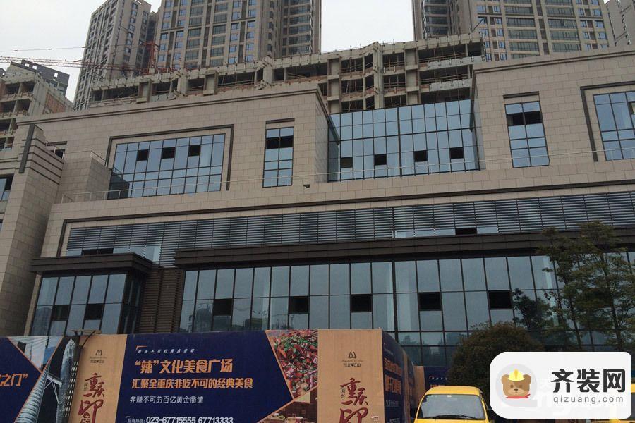 国兴北岸江山商铺实景(2015-3-4)
