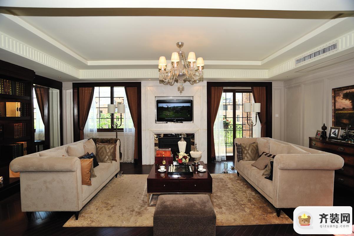 约克郡-新古典风格-273平米三居室
