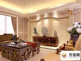 紫御江山-后现代风格-149平米四居室