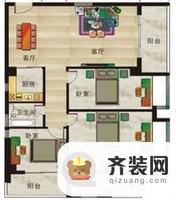 水岸怡园三室两厅两卫3室2厅2卫1厨