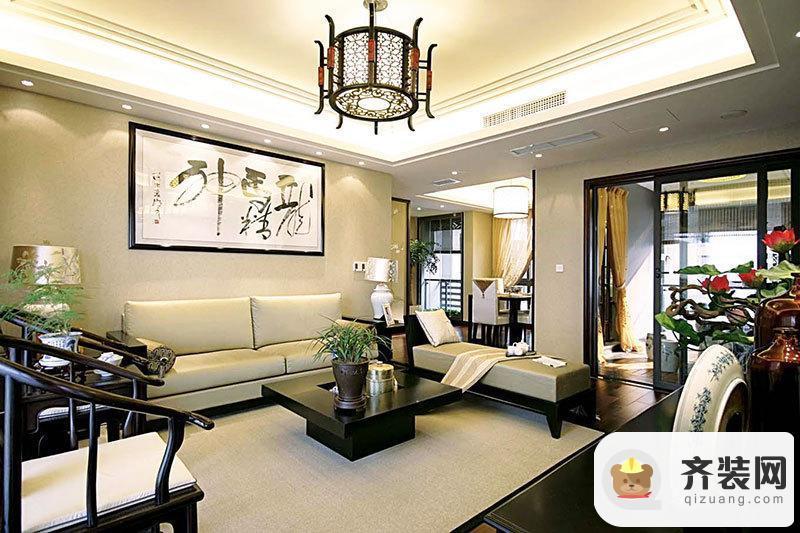 国兴北岸江山-中式古典-155平米四居室