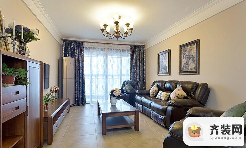 鲁能星城-新古典-80.98平米二居室